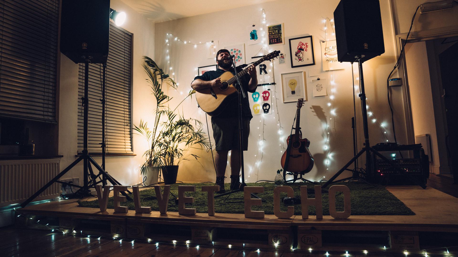 Velvet Echo at Rabble studio