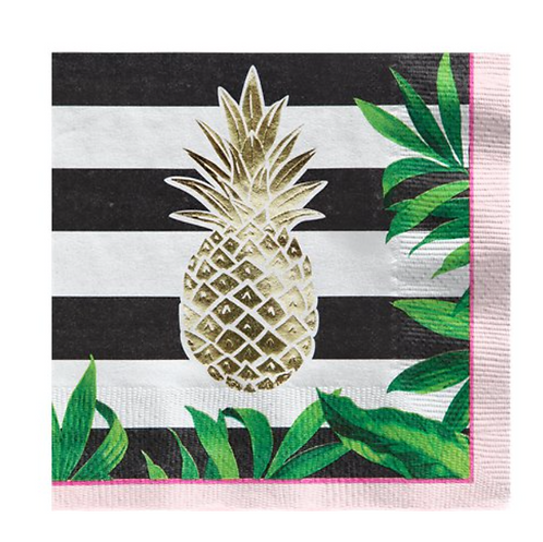 Summer Pineapple Napkins