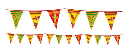 Mexican Fiesta Bunting