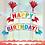 Thumbnail: Happy Birthday Streamer Cake Topper
