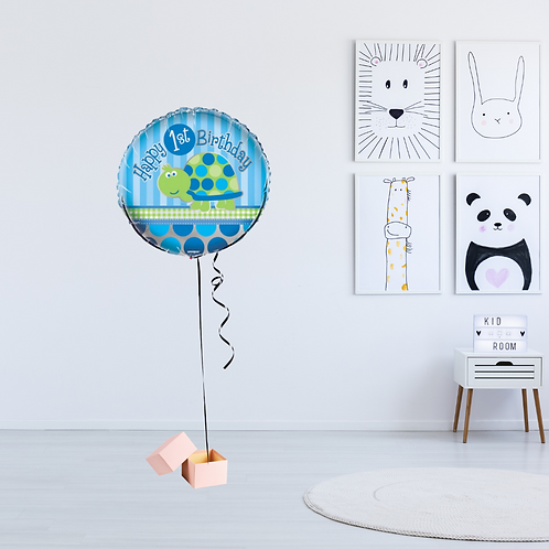 1st Birthday Balloon