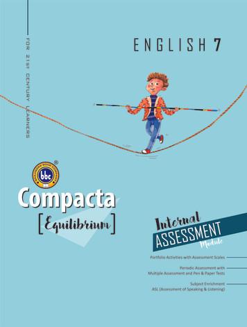 Compacta English Class 7 Equilibrium
