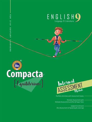 Compacta English Class 9 Equilibrium