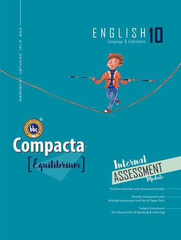 Compacta English Class 10 Equilibrium