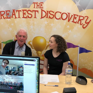 Live Stream with Creatives from The Greatest Discovery!