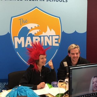 Live Stream with Creatives from The Marine Team!