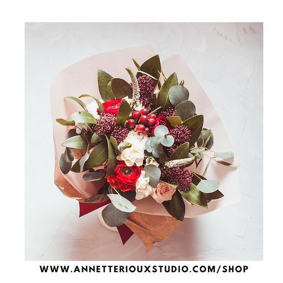 Holiday Flower Delivery Pop-Up