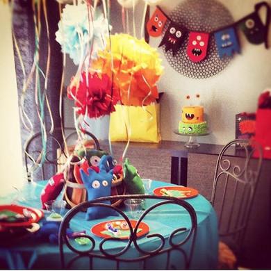 Monster Party Details #partyplanner #par