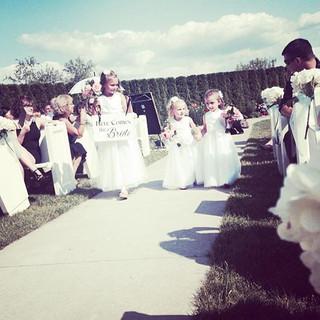 Ceremony Decor #annetteriouxcreationsstu