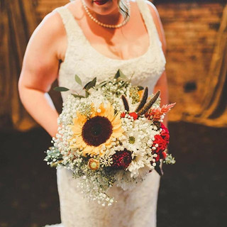 Fall Bridal Bouquet Table Garland #fallf