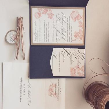 Wedding Invitation Suite #weddinginvitat