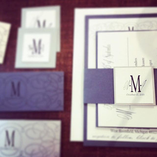 Invitation Suite Mock-up #invitationsuit