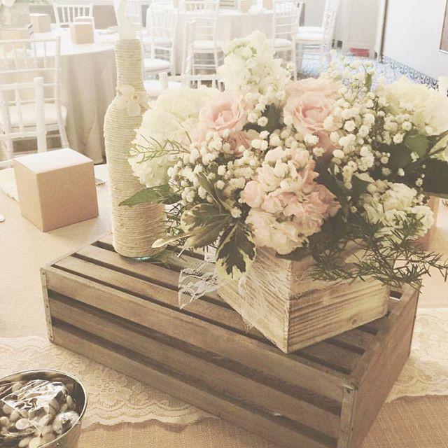 Table Decor #rusticdecor #rusticwedding