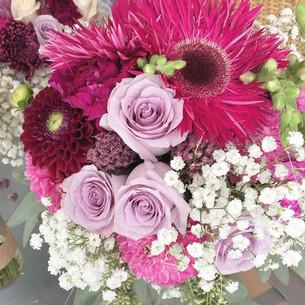 Bridal Bouquet #michiganwedding #purple