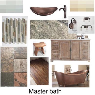 Interior Design #rusticdecor #másterbath