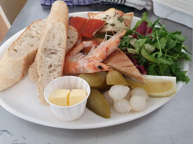 Seafood Ploughmans