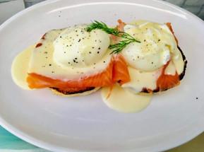 Salmon & Eggs Benedict