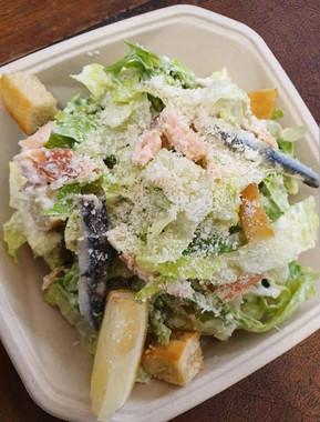 Smoke Salmon Ceaser Salad