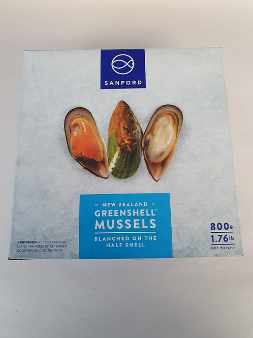 New Zealand Green shell Mussels