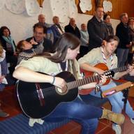 Instrumental gaben Ricarda Elsholz links