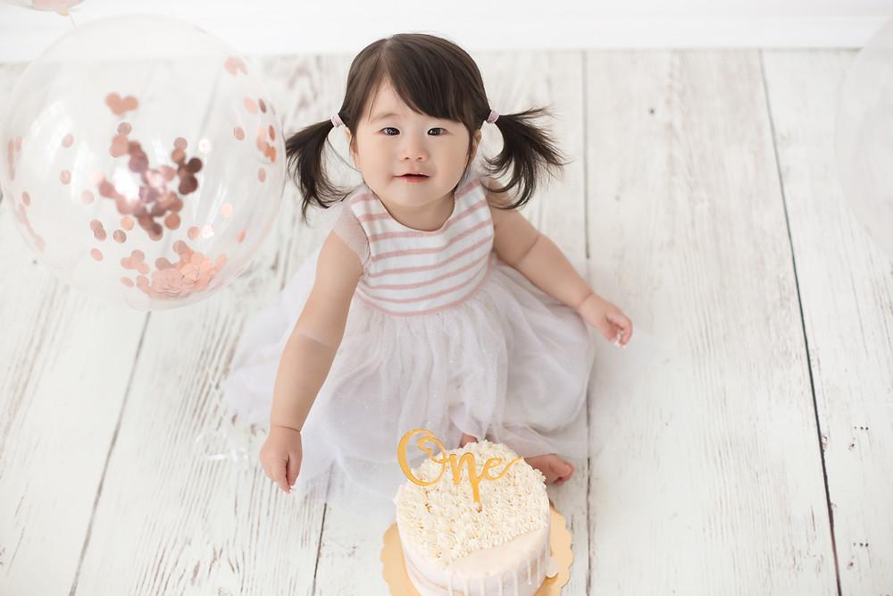 Sesión smash cake drip cake barcleona