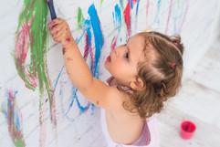 fotografia-infntil-niños-pintura-barcelo