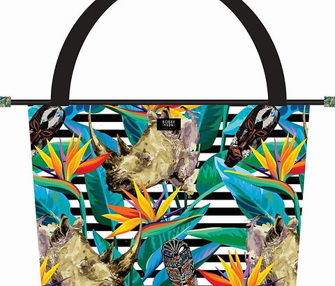 Picnic Cooler Bag - Strelitzia