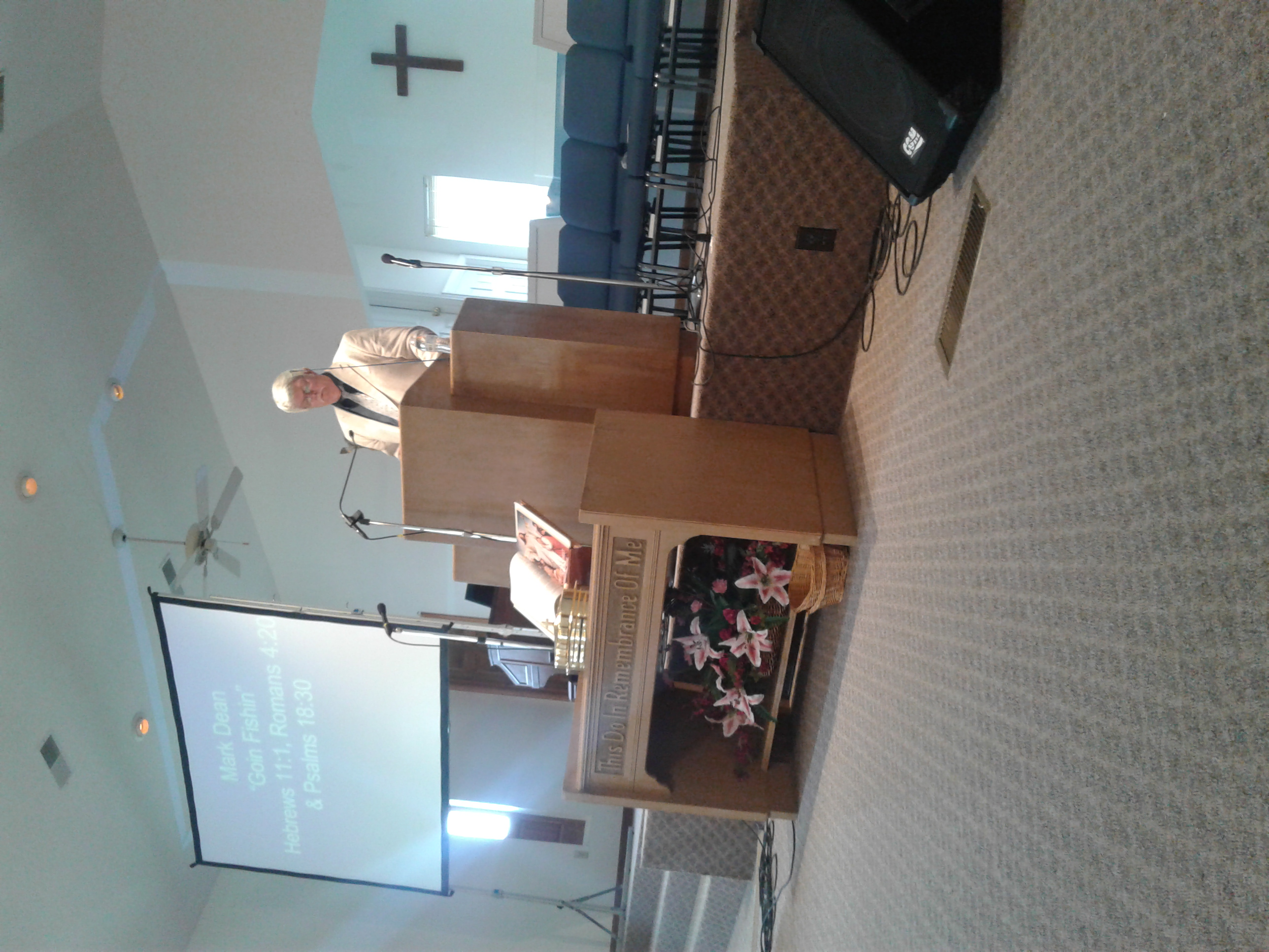 Mark preaching goose creek 1