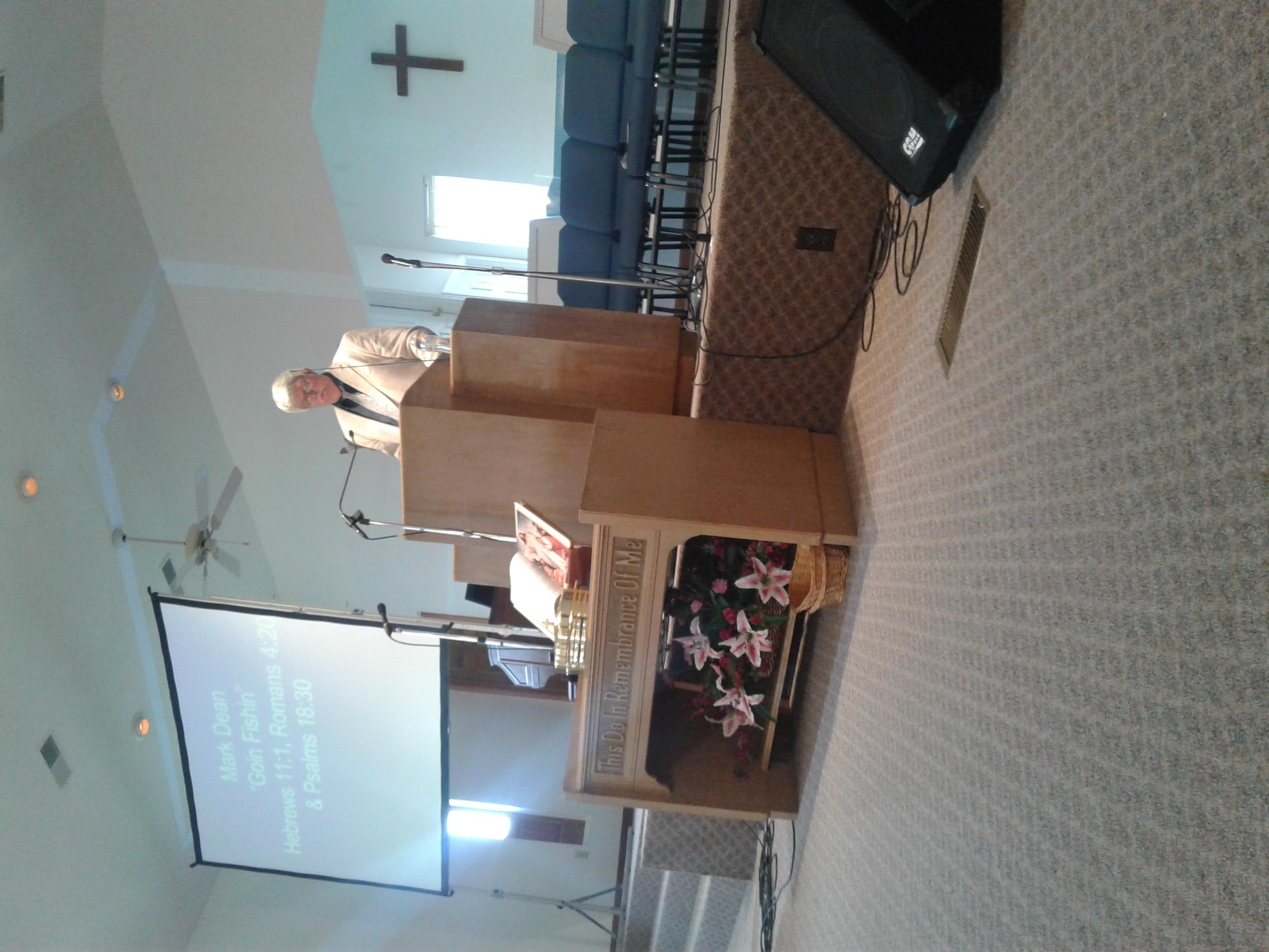 Mark preaching goose creek 1