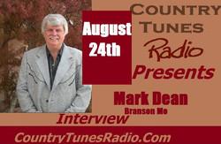 Mark Dean On Country Tunes Radio