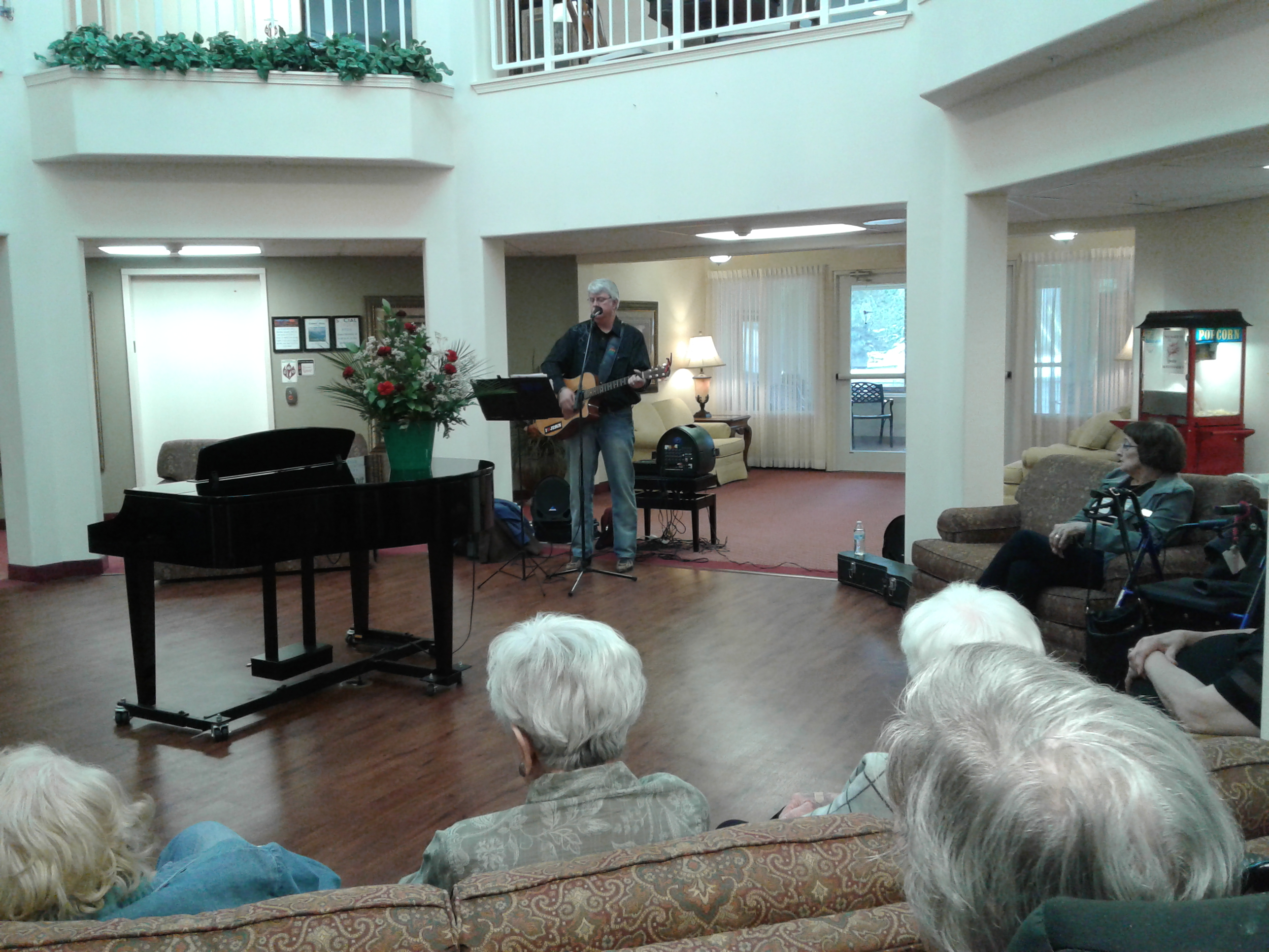 Mark nursing home ministry Tahlequah 2018