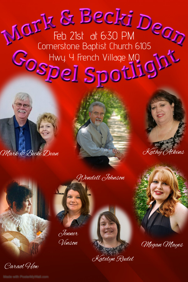 Gospel Spotlight Feb 2020
