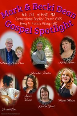 Gospel Spotlight Feb 2020