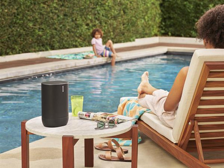 Sonos moves outside the home