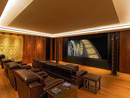 April 2015 Newsletter: Things to consider when planning a Home Cinema