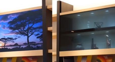 Panasonic reveals the 'invisible' TV