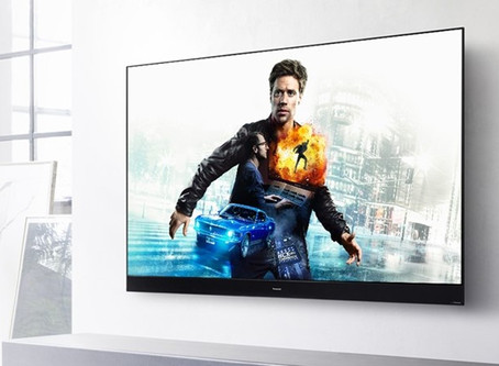 Panasonic HZ2000 OLED with Dolby Vision IQ and Intelligent Filmmaker mode.