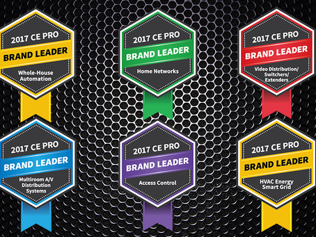 Control4 Named leading Home Control brand for third year in a row