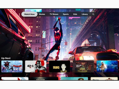 New Apple TV+ Streaming Services