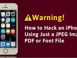 Basta visualizzare un'immagine per compromettere un iPhone!
