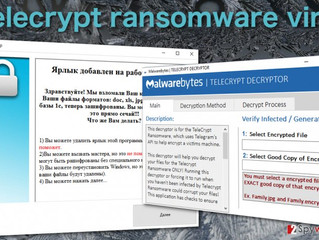 """""""Telecrypt"""": il primo ransomware che sfrutta Telegram per comunicare"""