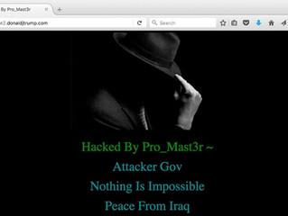 Dopo la posta, hackerato anche il sito web di Donald Trump