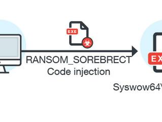 Scovato Sorebrect, un nuovo ransomware che non utilizza files per l'infezione