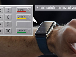 Come si ruba un PIN attraverso il proprio smartwatch