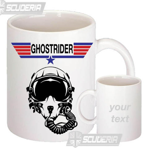Ghostrider  10oz Mug White