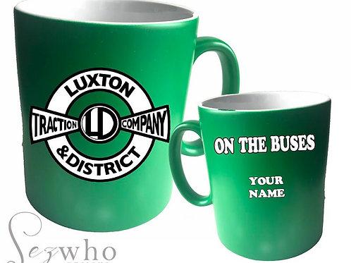 On The buses mug