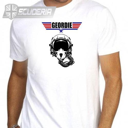GEORDIED Top Gun  Mens tee