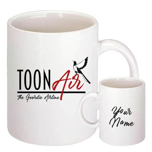 TOON AIR  10oz Mug White