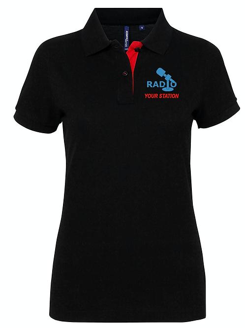 WOMENS polo shirt AQ022