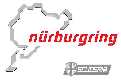 Nurburgring Sticker, 12cm